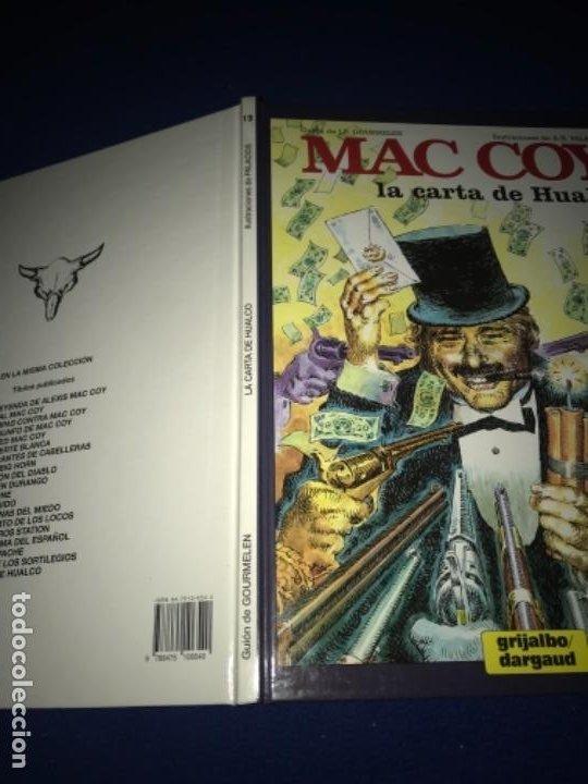 Cómics: MAC COY LA CARTA DE HUALCO - NÚMERO 19 - TAPA DURA - EDICIONES JUNIOR PERFECTO - Foto 10 - 205359822