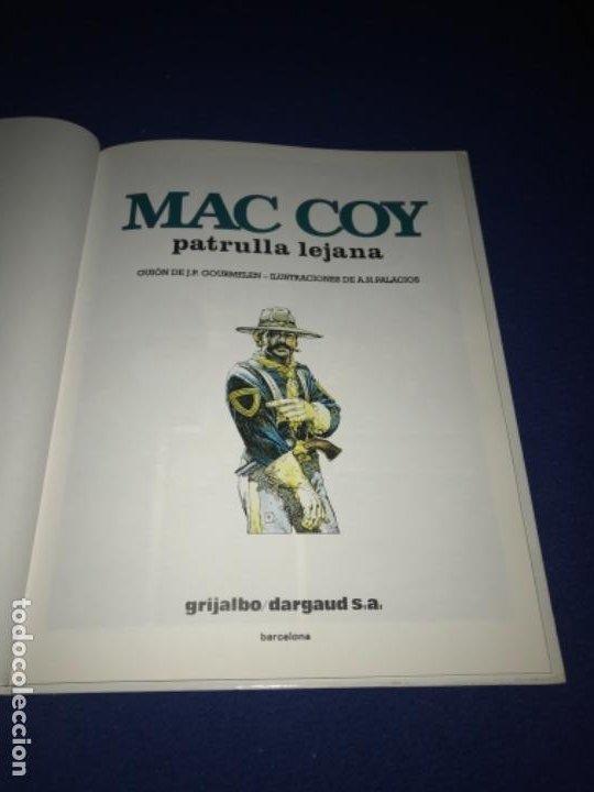 Cómics: Mac Coy 20: Patrulla Lejana. Gourmelen & Palacios. Grijalbo / Dargaud. PERFECTO - Foto 3 - 205360128
