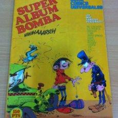 Cómics: SUPER ÁLBUM BOMBA Nº 16 - 3 NÚMEROS DE LA REVISTA SPIROU. EDITORA MUNDIS, SERIE CÓMICS UNIVERSALES. Lote 87225876