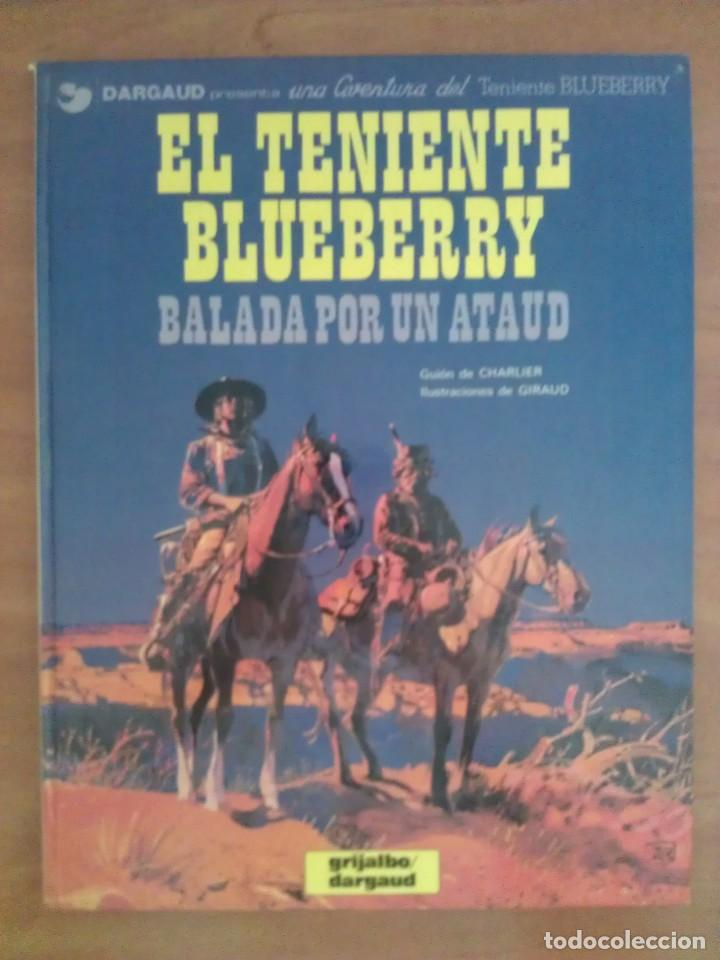 BLUEBERRY: BALADA POR UN ATAUD / Nº 9 - 1982 (Tebeos y Comics - Grijalbo - Blueberry)
