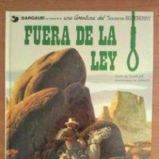 Cómics: BLUEBERRY : FUERA DE LA LEY - Nº 10 / 1979. Lote 205521480