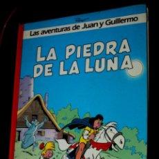 Cómics: LAS AVENTURAS DE JUAN Y GUILLERMO Nº 4 - LA PIEDRA DE LA LUNA - GRIJALBO (MBE). Lote 205525652