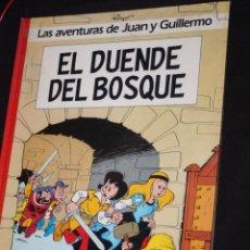 Cómics: LAS AVENTURAS DE JUAN Y GUILLERMO Nº 3 - EL DUENDE DEL BOSQUE - GRIJALBO (MBE). Lote 205525993
