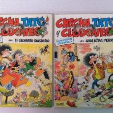 Cómics: CHICHA TATO Y CLODOVEO EDT. GRIJALBO. Lote 205551050