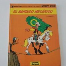 Cómics: LUCKY LUKE NÚMERO 20 EL BANDIDO MECÁNICO 1982 GRIJALBO-DARGAUD. Lote 205556912