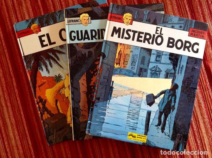 AVENTURAS DEL REPORTERO LEFRANC-GRIJALBO-TRES NÚMEROS-3-4-7-BUEN ESTADO (Tebeos y Comics - Grijalbo - Lefranc)