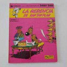 Cómics: LUCKY LUKE NÚMERO 6 LA HERENCIA DE RAN TAN PLAN 1979 EDICIONES JUNIOR DARGAUD. Lote 205557866