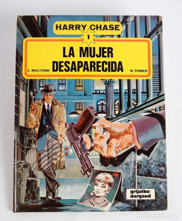 HARRY CHASE Nº 1: LA MUJER DESAPARECIDA- GRIJALBO/DARGAUD. 1979 (Tebeos y Comics - Grijalbo - Otros)