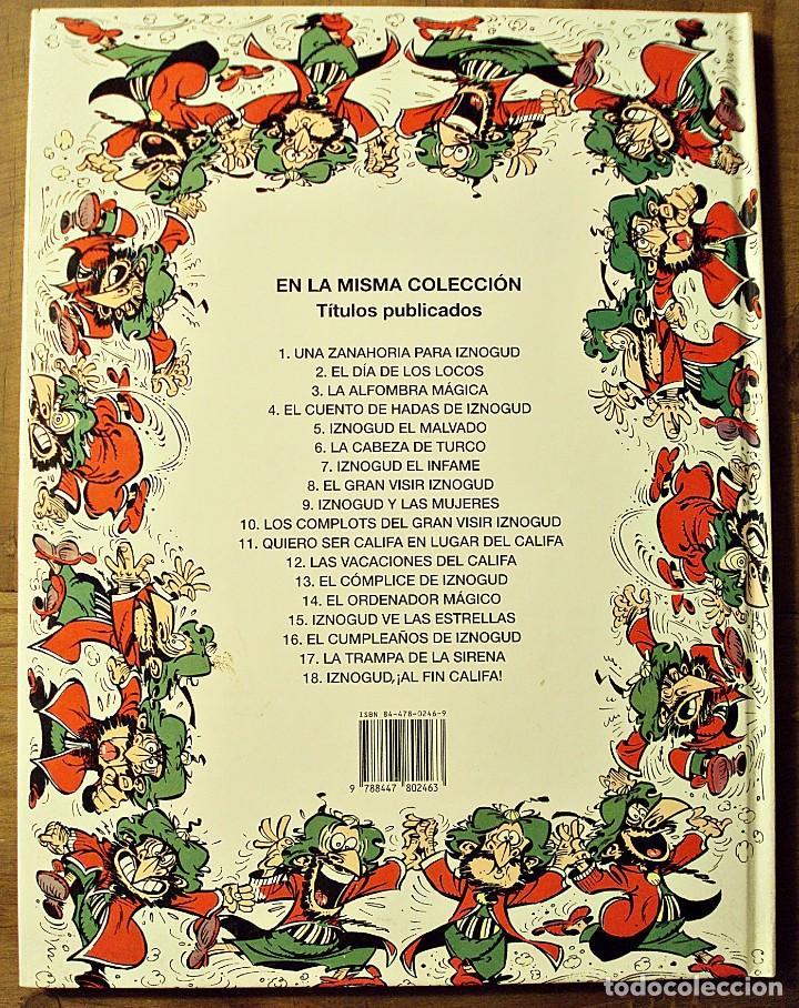 Cómics: IZNOGUD AL FIN CALIFA - EDICIONES JUNIOR 1994 - Foto 2 - 205783087