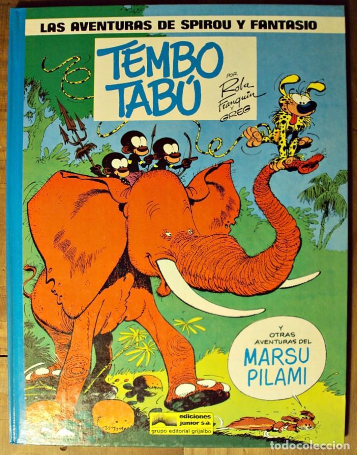TEMBO TABÚ - LAS AVENTURAS DE SPIROU Y FANTASIO - JUNIOR 1986 (Tebeos y Comics - Grijalbo - Spirou)