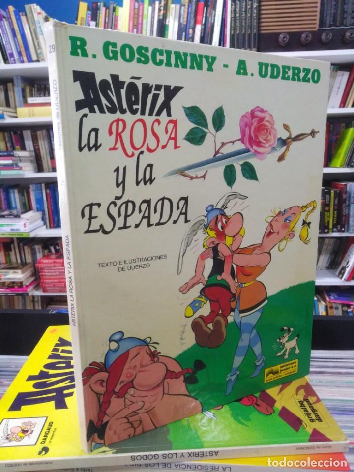 ASTERIX - LA ROSA Y LA ESPADA - GOSCINNY - UDERZO (Tebeos y Comics - Grijalbo - Asterix)