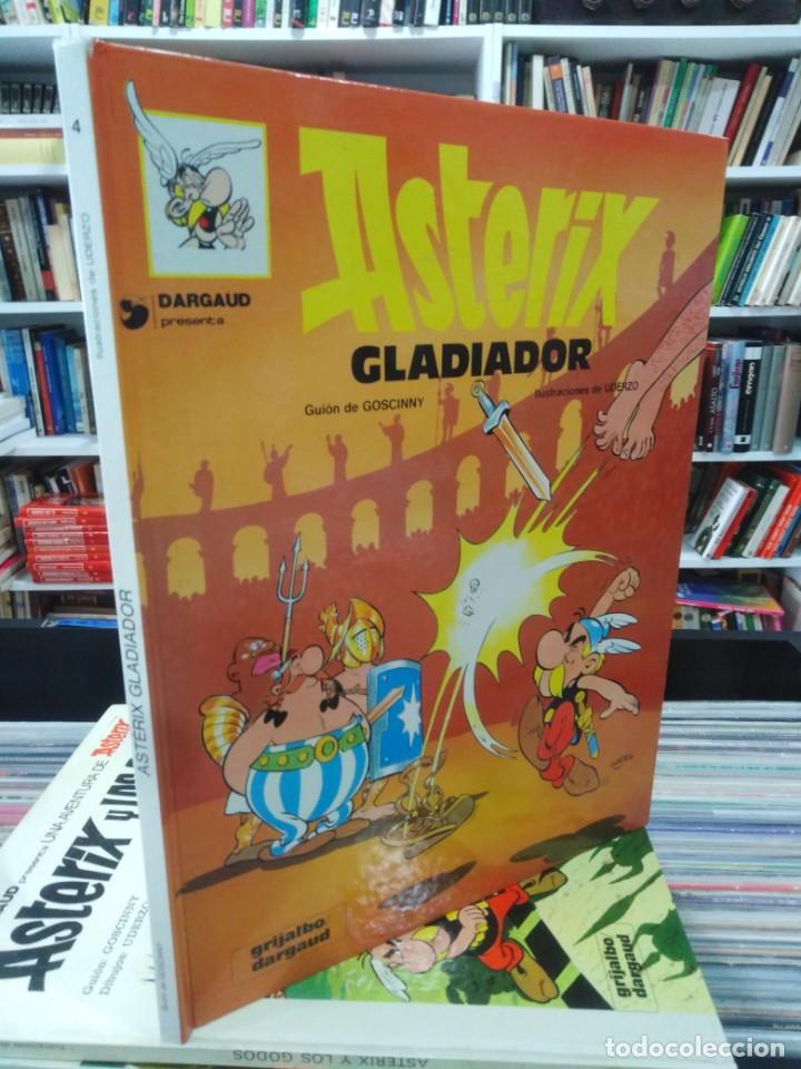 ASTERIX EL GLADIADOR - GOSCINNY - UDERZO (Tebeos y Comics - Grijalbo - Asterix)