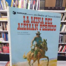 Cómics: LA MINA DEL ALEMÁN PERDIDO - TENIENTE BLUEBERRY - CHARLIER - GIRAUD. Lote 206121492