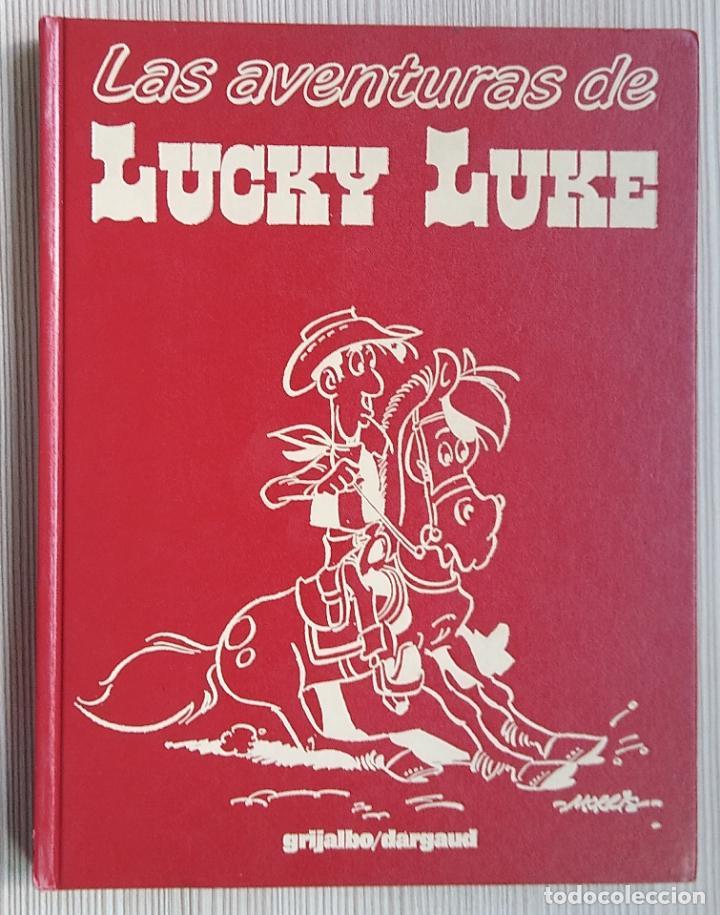 LAS AVENTURAS DE LUCKY LUKE - TOMO 2 -GOSCINNY Y MORRIS - GRIJALBO DARGAUD (4 HISTORIAS) (Tebeos y Comics - Grijalbo - Lucky Luke)