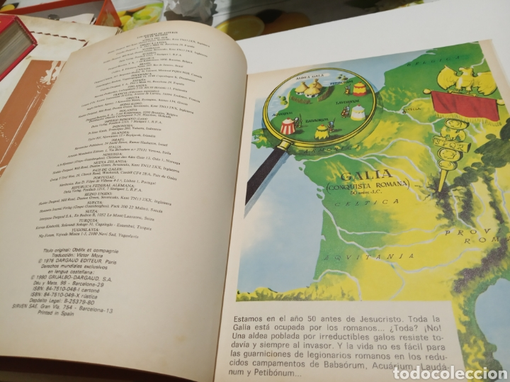 Cómics: Astérix y Obélix , Obélix y compañía 1980 - Foto 4 - 206180488
