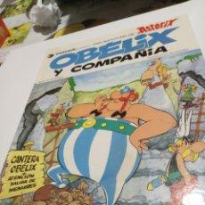 Cómics: ASTÉRIX Y OBÉLIX , OBÉLIX Y COMPAÑÍA 1980. Lote 206180488