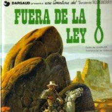 Cómics: LAS AVENTURAS DEL TENIENTE BLUEBERRY NÚMERO 10. Lote 206183715