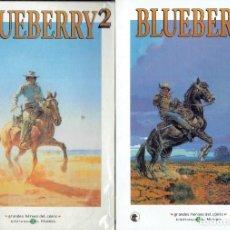 Cómics: BLUEBERRY N,1,2,3, GRANDES HEROES DEL COMIC 2003 BIBLIOTECA EL MUNDO. Lote 206213498