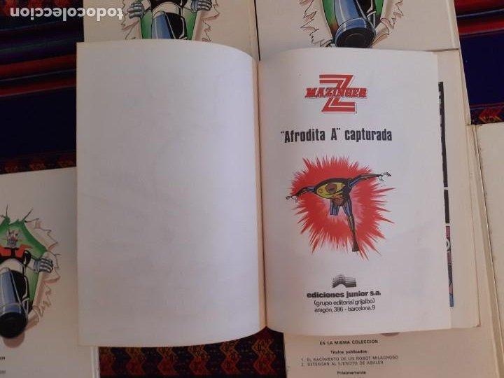Cómics: BUEN ESTADO, MAZINGER Z 1 2 3 4 5 6 COMPLETA. GRIJALBO JUNIOR 1978. - Foto 4 - 206246471