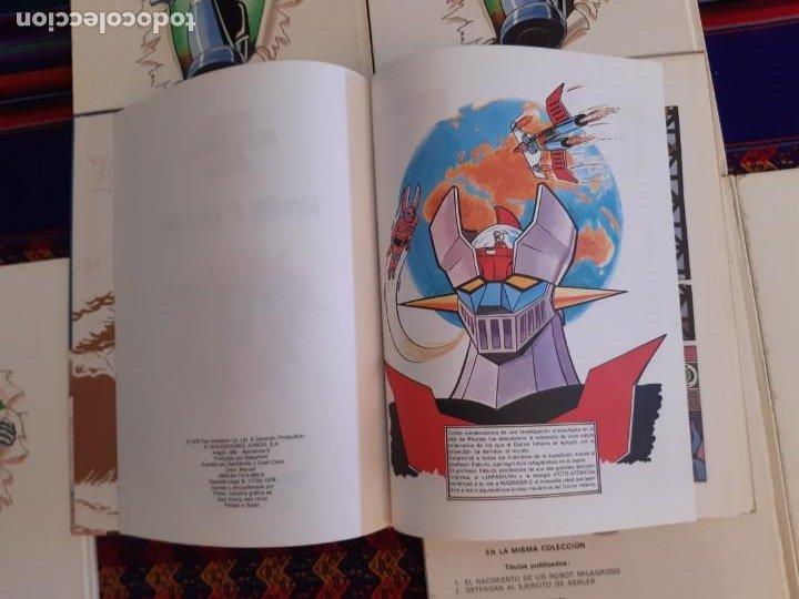 Cómics: BUEN ESTADO, MAZINGER Z 1 2 3 4 5 6 COMPLETA. GRIJALBO JUNIOR 1978. - Foto 5 - 206246471