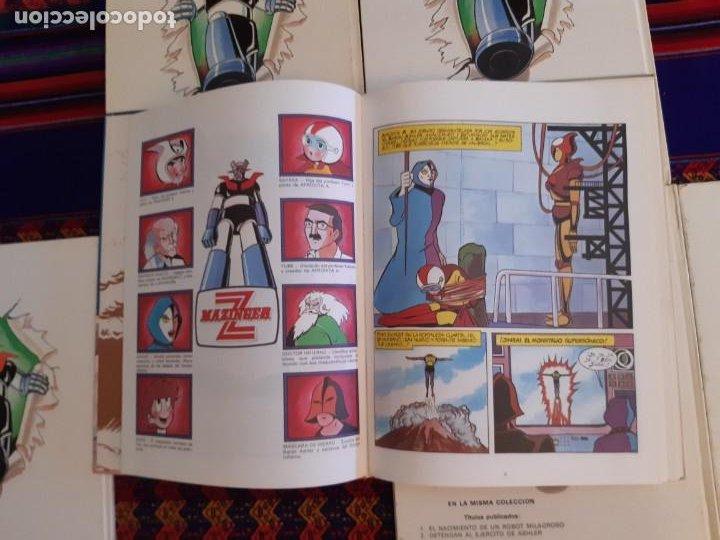 Cómics: BUEN ESTADO, MAZINGER Z 1 2 3 4 5 6 COMPLETA. GRIJALBO JUNIOR 1978. - Foto 6 - 206246471