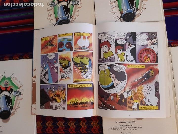 Cómics: BUEN ESTADO, MAZINGER Z 1 2 3 4 5 6 COMPLETA. GRIJALBO JUNIOR 1978. - Foto 7 - 206246471