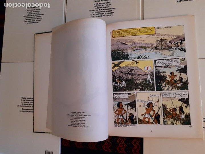 Cómics: NUEVOS, PAPYRUS 3 4 5 6 7 8 9 10 COMPLETA. JUNIOR GRIJALBO 1989. - Foto 4 - 206248207