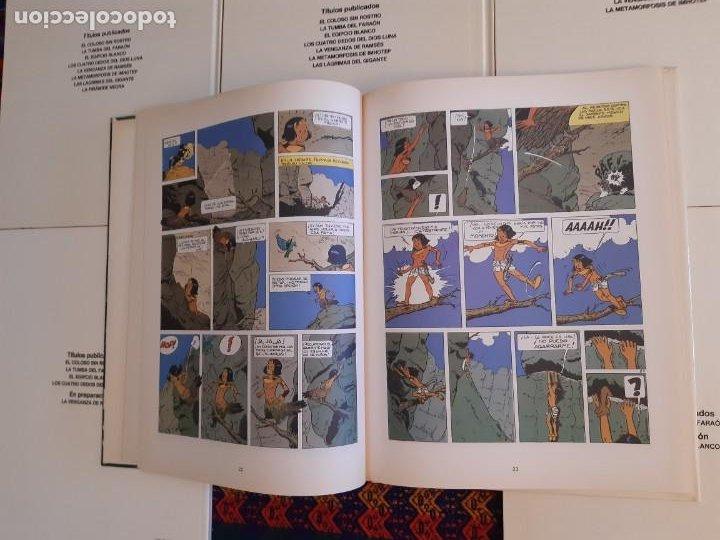 Cómics: NUEVOS, PAPYRUS 3 4 5 6 7 8 9 10 COMPLETA. JUNIOR GRIJALBO 1989. - Foto 5 - 206248207