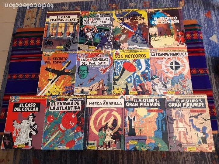 NUEVOS BLAKE Y MORTIMER 1 2 3 4 5 6 7 8 9 10 11 12 COMPLETA EL CASO DE FRANCIS BLAKE GRIJALBO JUNIOR (Tebeos y Comics - Grijalbo - Blake y Mortimer)
