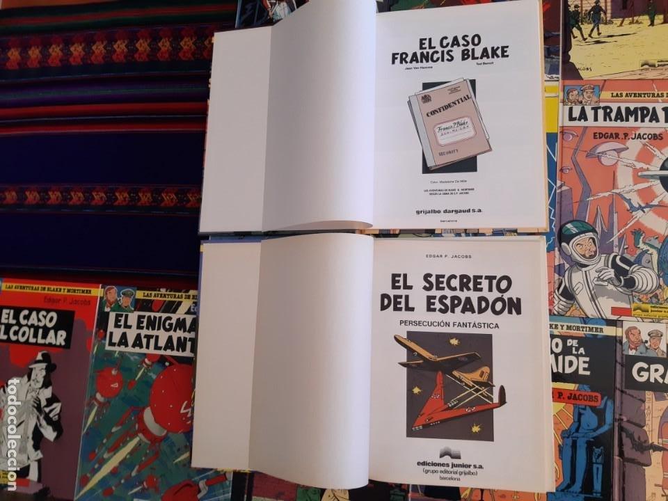 Cómics: NUEVOS BLAKE Y MORTIMER 1 2 3 4 5 6 7 8 9 10 11 12 COMPLETA EL CASO DE FRANCIS BLAKE GRIJALBO JUNIOR - Foto 3 - 206249945