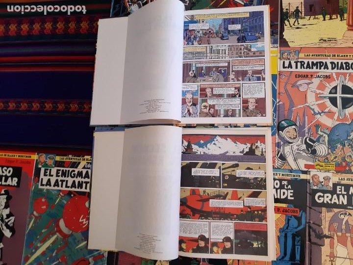 Cómics: NUEVOS BLAKE Y MORTIMER 1 2 3 4 5 6 7 8 9 10 11 12 COMPLETA EL CASO DE FRANCIS BLAKE GRIJALBO JUNIOR - Foto 4 - 206249945