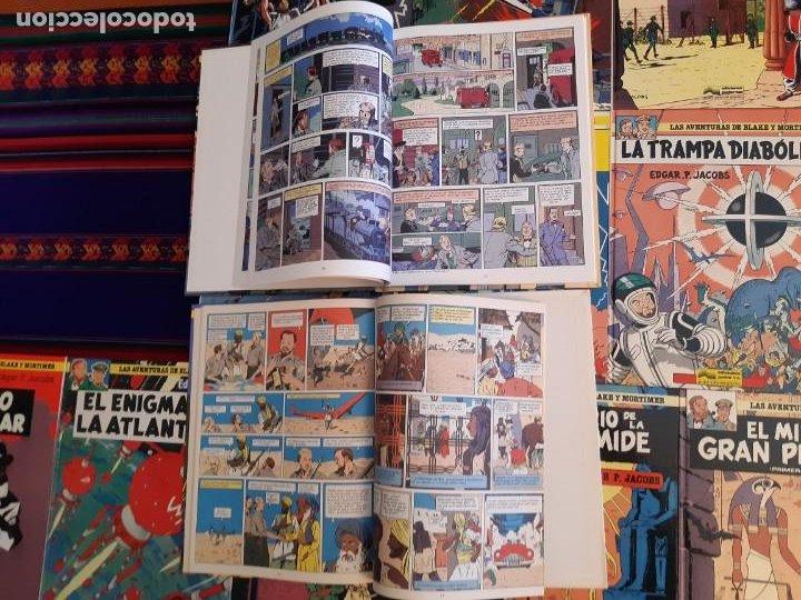 Cómics: NUEVOS BLAKE Y MORTIMER 1 2 3 4 5 6 7 8 9 10 11 12 COMPLETA EL CASO DE FRANCIS BLAKE GRIJALBO JUNIOR - Foto 6 - 206249945
