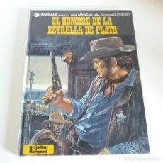 Cómics: BLUEBERRY - EL HOMBRE DE LA ESTRELLA DE PLATA - CHARLIER / GIRAUD. Lote 206368472