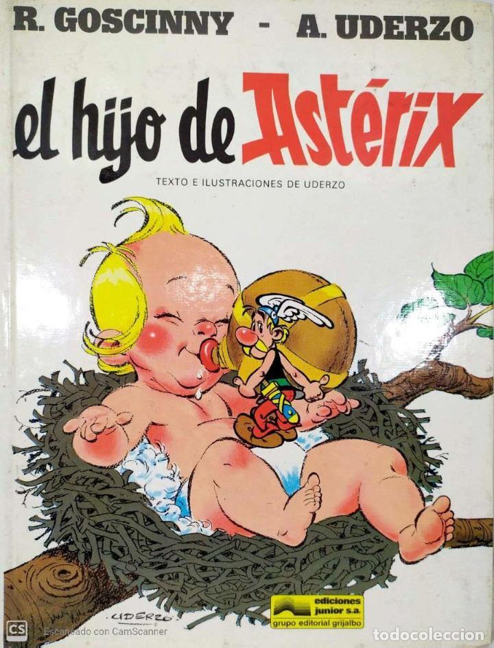 EL HIJO DE ASTÉRIX - A. UDERZO (Tebeos y Comics - Grijalbo - Asterix)