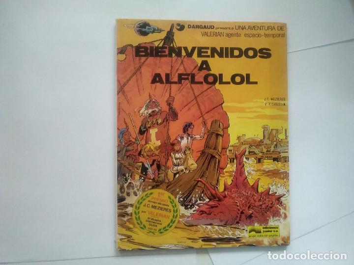 BIENVENIDOS A ALFLOLOL - VALERIAN AGENTE ESPACIO-TEMPORAL - MEZIERES CHRISTIN - DARGAUD JUNIOR -(E1) (Tebeos y Comics - Grijalbo - Valerian)