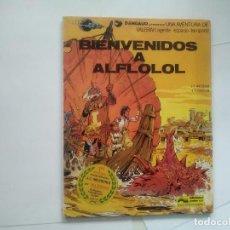 Cómics: BIENVENIDOS A ALFLOLOL - VALERIAN AGENTE ESPACIO-TEMPORAL - MEZIERES CHRISTIN - DARGAUD JUNIOR -(E1). Lote 206409052