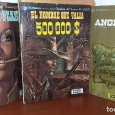 Cómics: TRES AVENTURAS DEL TENIENTE BLUEBERRY (GRIJALBO/DARGAUD). Lote 206528811