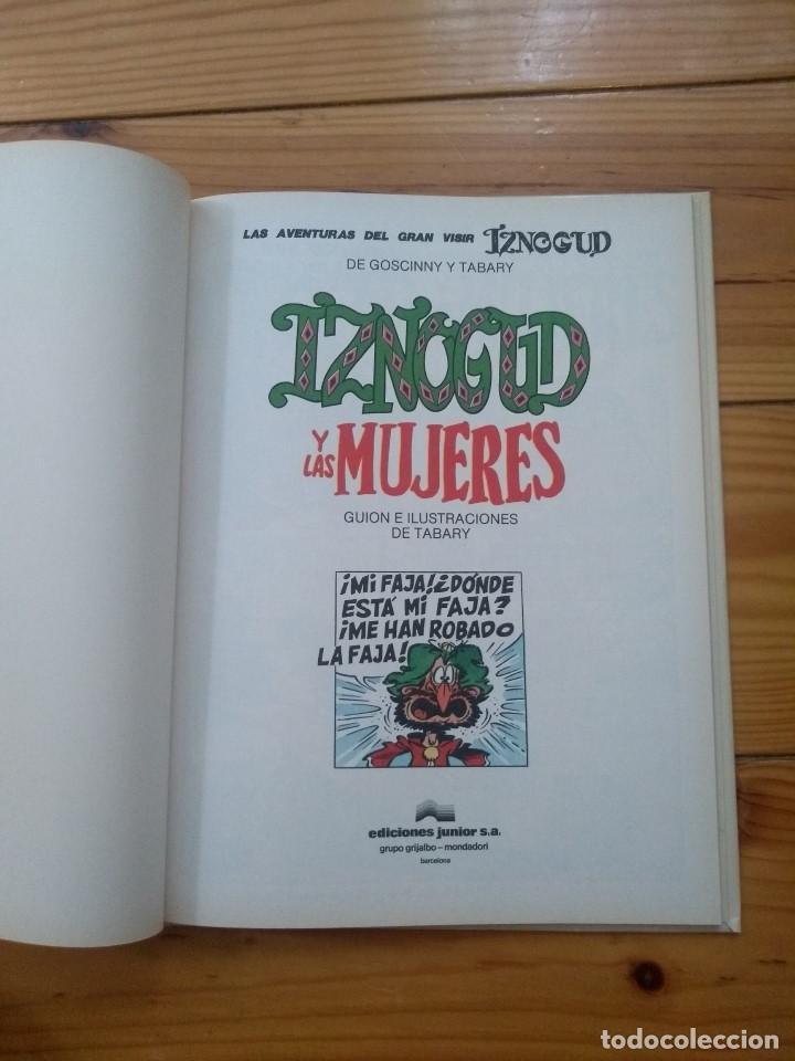 Cómics: Iznogud nº 9 - Iznogud y las Mujeres - Casi perfecto - Foto 9 - 206529292