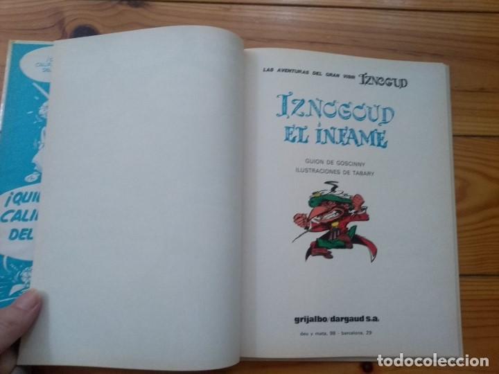 Cómics: Iznogud nº 7 - Iznogud el Infame - Impecable! - Foto 7 - 206529785