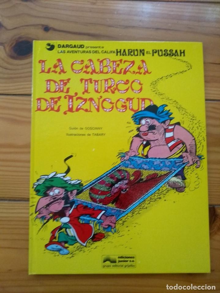 IZNOGUD Nº 6 - LA CABEZA DE TURCO DE IZNOGUD - PRÁCTICAMENTE PERFECTO (Tebeos y Comics - Grijalbo - Iznogoud)