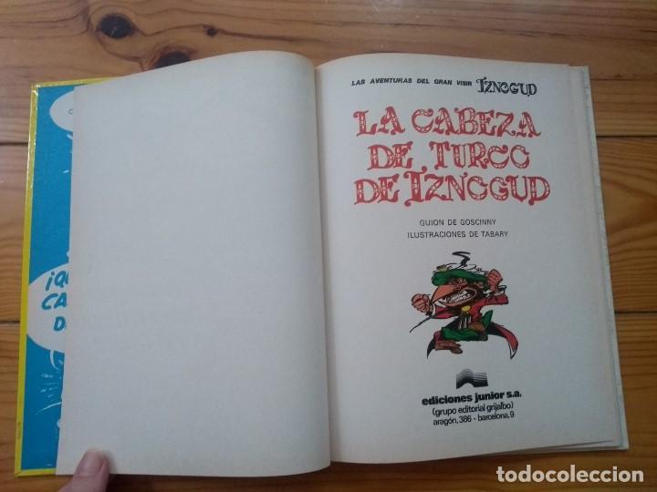Cómics: Iznogud nº 6 - La Cabeza de Turco de Iznogud - Prácticamente perfecto - Foto 7 - 206530332
