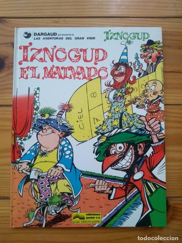 IZNOGUD Nº 5 - IZNOGUD EL MALVADO - MUY BUEN ESTADO (Tebeos y Comics - Grijalbo - Iznogoud)