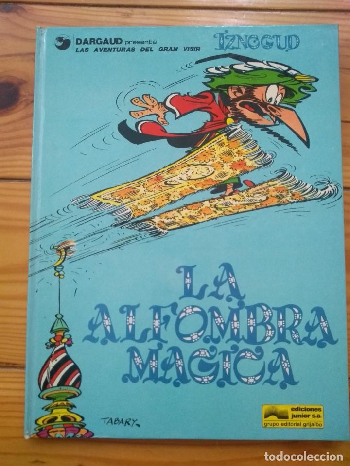 IZNOGUD Nº 3 - LA ALFOMBRA MÁGICA - CASI PERFECTO! (Tebeos y Comics - Grijalbo - Iznogoud)