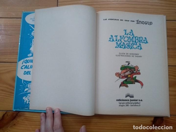 Cómics: Iznogud nº 3 - La Alfombra Mágica - Casi perfecto! - Foto 8 - 206531522