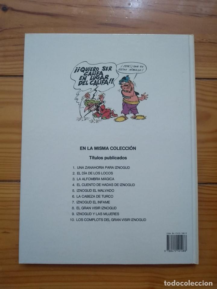 Cómics: Iznogud nº 2 - El Día de los Locos - Excelente estado - Foto 4 - 206531985