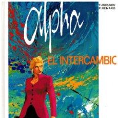 Cómics: ALPHA 1 - EL INTERCAMBIO - GRIJALBO,1997. NUEVO. PEDIDO MÍNIMO DE 5 €.. Lote 206535631