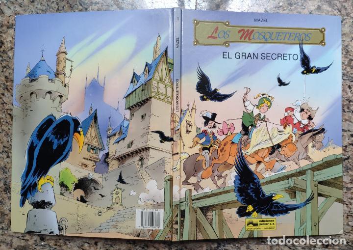 LOS MOSQUETEROS Nº 1: EL GRAN SECRETO - MAZEL (EDICIONES JUNIOR - GRIJALBO 1991) (Tebeos y Comics - Grijalbo - Otros)
