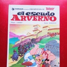 Cómics: COMIC-ASTERIX-EL ESCUDO ARVERNO-1981-GARGAUD/GRIJALBO-VER FOTOS. Lote 206589613