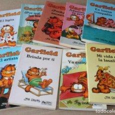 Cómics: GARFIELD - GRIJALBO MONDADORI JUNIOR - POCKET - 1 2 3 4 5 7 9 11 - MUY BUEN ESTADO - Y SUELTOS. Lote 206981306