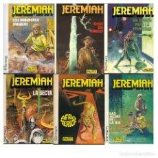 Cómics: JEREMIAH. LOTE 6 ALBUMS. 3 4 5 6 7 8. HERMANN. GRIJALBO. VER DESCRIPCION. Lote 195570542